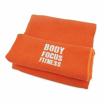 Microfibre Travel Sports Towel - Quick Dry Body Focus Fitness Gym Towel - X-L...