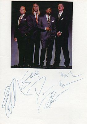 Hootie and the Blowfish Autogramme full signed 15x21 cm Karteikarte mit ZB