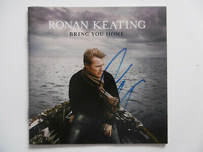 "Ronan Keating Autogramm signed CD Booklet ""Bring You Home"""