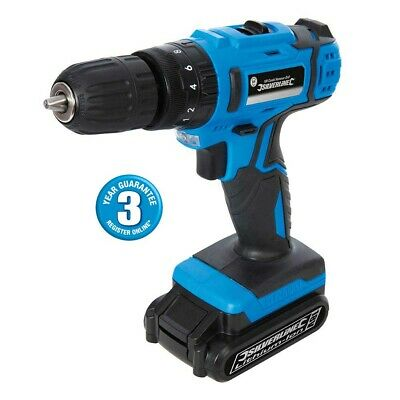 18V Cordless Lithium Rechargeable Combi Hammer Drill & Smart Charge 3Yr Warranty