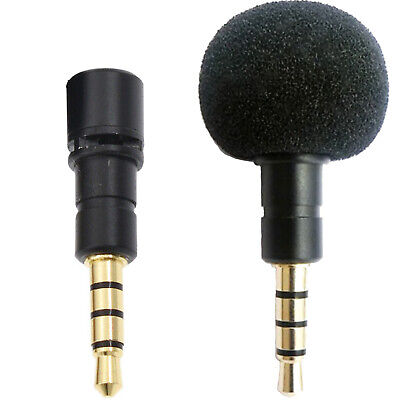 TINY SENSITIVE EXTERNAL MICROPHONE FOR DELL / SONY LAPTOP 3 5mm JACK