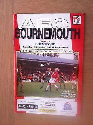 Bournemouth V Brentford 1995-96