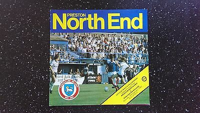 Preston North End V Doncaster Rovers 1981-82