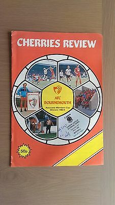 Bournemouth V Walsall 1985-86