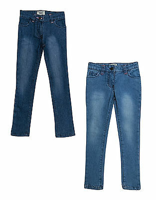 Girls Jeans Original Penguin Denim Skinny Slim Leg Jeans 2-7 Years Bnwt