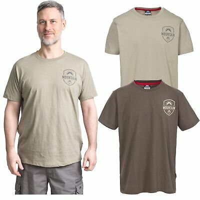 Trespass Rawhider Mens Short Sleeve Top Casual Summer T-Shirt Cotton Blend
