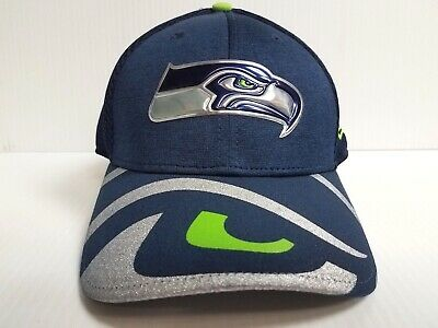 198d90609 Seattle Seahawks Cap New Era 39Thirty Stretch Fit 2017 NFL Draft Day Hat