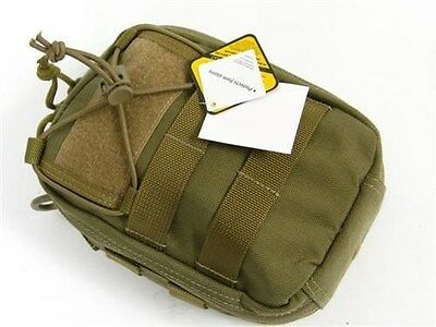 MAXPEDITION Khaki FR-1 FIRST AID KIT Pouch Bag Pack! 0226K