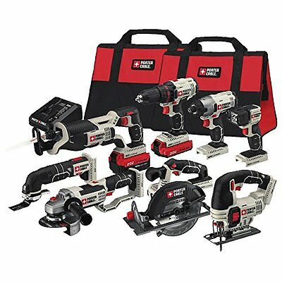 Power Tools Combo Kit PORTER-CABLE 20V Max 8-Tool
