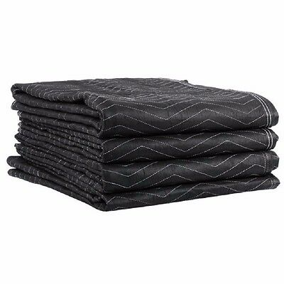 """Ultra Thick Pro Moving Blankets Padded Furniture Pads 5 Pack 72"""" x 80"""""""