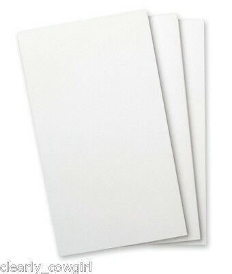 #8273 - Wellspring Flip Note Pad Refill Plain White Paper No Lines 3 Pack