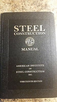 aisc steel construction manual 13th edition 80 00 picclick rh picclick com 14th edition steel construction manual 13th edition aisc steel construction manual pdf