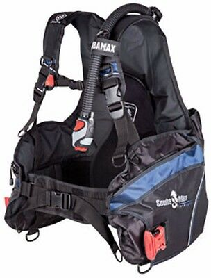 Scuba Diving BCD Brand New BC integrated weight pockets Versa 3000 Travel LG