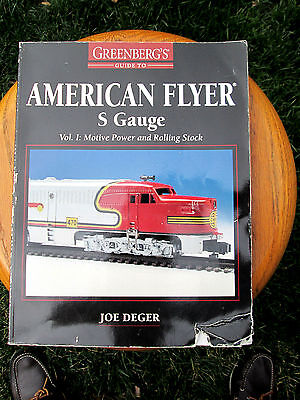 """greenberg's Price Guide To American Flyer"".volume (1)...fifth Edition....1997!"