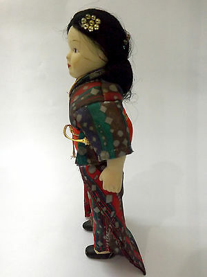 Ancient old dolls from 19th century made of porcelain