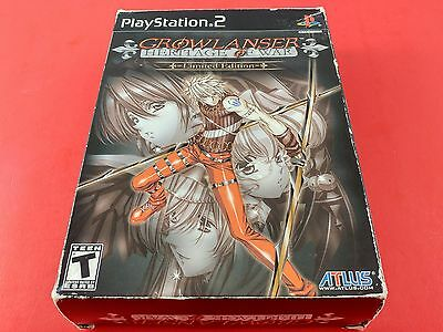Growlanser Heritage of War Limited Edition [Box Only] (Playstation 2 PS2)