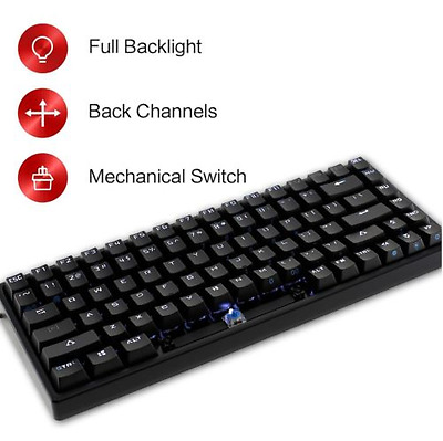 Drevo Gramr 84 Key Backlit Tenkeyless Mechanical Gaming Keyboard Brown Switch