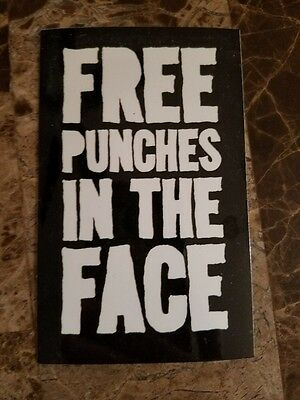 Social Distance Stay Away Free Punches In The Face Sticker Buy 1 Get 9 FREE