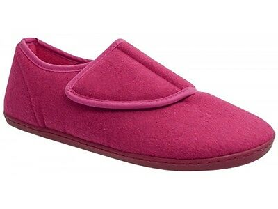 Womens Scholl Orthaheel Orthotic Hush Slippers - Pink