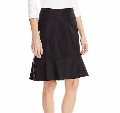 ROYAL ROBBINS Jet Black Womens Discovery Skirt