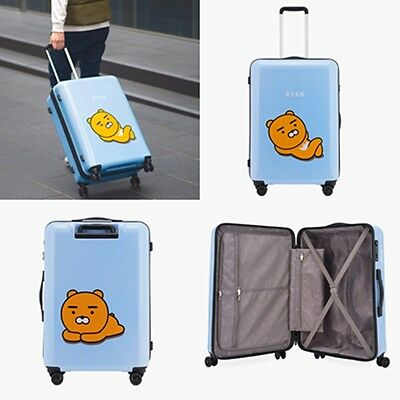 Kakao Friends Ryan Travel Luggage 27 inch ABS Trolley Spinner Carry On Suitcase