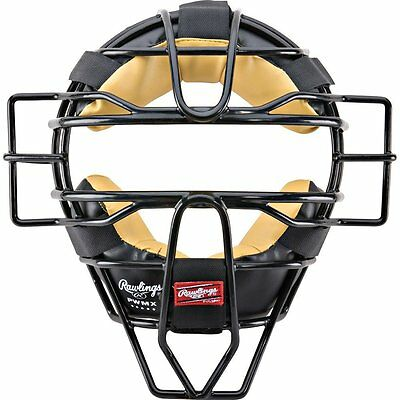 Baseball/Softball Umpire Mask High Visibility Throat Protection Wire Frame
