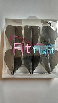 Cosmo Fit Flights Pack Of 6 Black Standard Shape