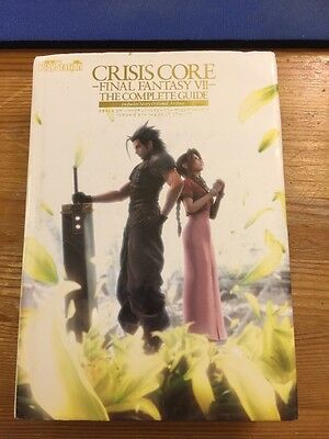 JAPAN Crisis Core Final Fantasy VII Complete Guide art book