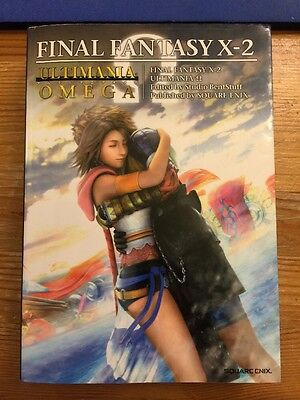 JAPAN Final Fantasy X-2 Ultimania Omega Square enix Book