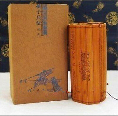 Chinese ancient war strategy famed Bamboo Book 'The Art of War'