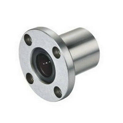 1 Pcs of 8 mm LMF8UU Round Flange Linear Motion Router Shaft Bearing XYZ CNC LMF