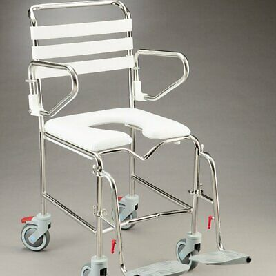 Care Quip - Mobile Shower Commode B1026S