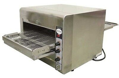 New Fma Omcan Conveyor Commercial Countertop Pizza Baking Oven TS7000 11387