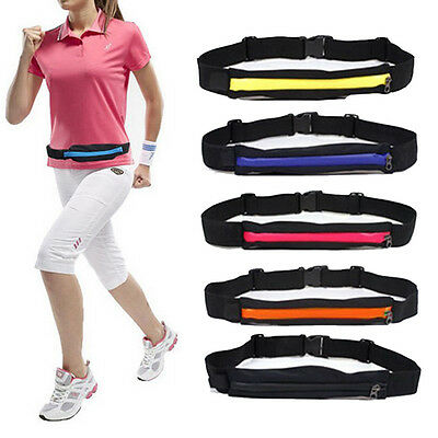 Outdoor Travel Anti-water Pocket Running Bicycle Sports Cell Phone Waist Bag US