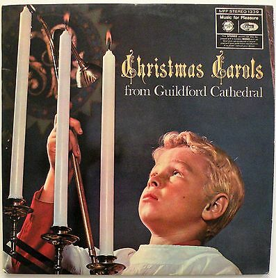 Christmas Carols From Guildford Cathedral (MFP 1339) Vinyl LP Album - VG+/EX