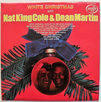 White Christmas With NAT KING COLE & DEAN MARTIN (MFP 5224) Vinyl LP - VG+/EX
