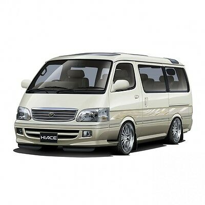 Aoshima The Best Car GT Series No.3 1/24 TOYOTA 100 Hiace Super Custom Limited