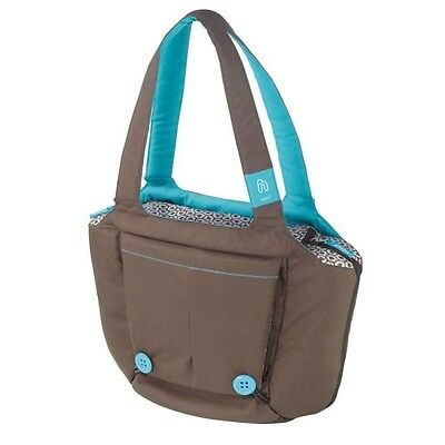 HOPPOP Sac a langer BOOSTI BAG CHOCO BLOOM