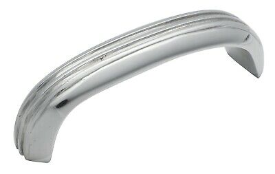 Tradco 3449CP Deco Pull Handle Polished Chrome 85x20mm