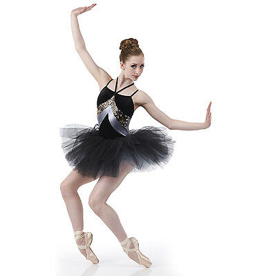 INFINITE Ballet Tutu Dance Costume Contemporary Adult Small & Plus Size 2XL
