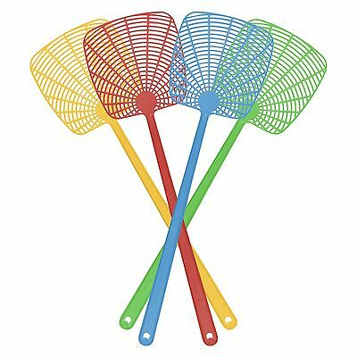Handheld Plastic Fly / Bug / Insect Pest Control Swatter (Various Colours)
