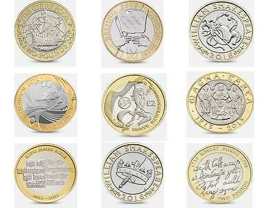 Rare £2 Two Pound Coin Coins Money Commonwealth  Games  Navy Royal