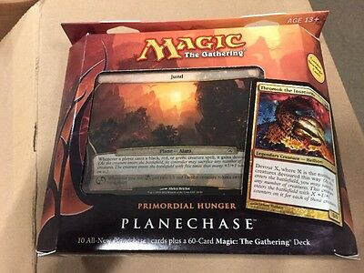 Magic The Gathering 2012 Planechase Primordial Hunger Theme Deck, Sealed MTG CCG