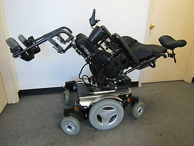 2014 Permobil M300 Wheelchair With Power Tilt.