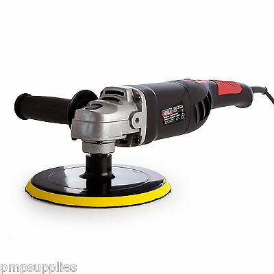 Sealey Lightweight Variable Speed Polisher 1100W ER1700P NDD + FREE GIFT