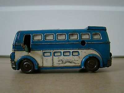 Blechspielzeug Joustra Broadway Greyhound Observation Bus France Tintoy Tole