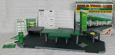 BP Service Station Build Model Gas Car Wash Store Shop 1995 Edition