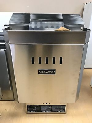 Canadian Made Rock Sauna Heater with Controls 5KW