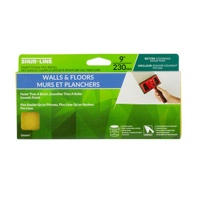 Shur-Line Large Replacement Paint Pad 9 ""