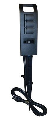 Coleman Cable 50053 3-Outlet Outdoor Wi-Fi Stake And Wireless Switch Programmabl